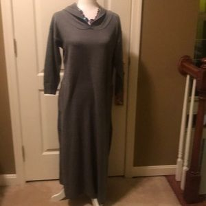 NWT Hooded sweater dress